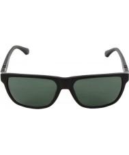 Emporio Armani Ea4035 58 moderna svart 501771 solglasögon