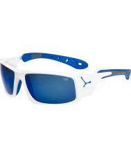 Cebe Ice 8000 skinande vita blå solglasögon