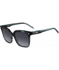 Calvin Klein Collection Damer ck4323s randig gröna solglasögon