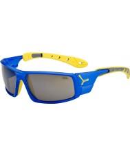 Cebe Is 8000 elektriskt blåa gula solglasögon
