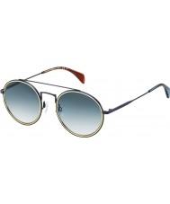 Tommy Hilfiger Th 1455-s bqz 08 matt blå solglasögon
