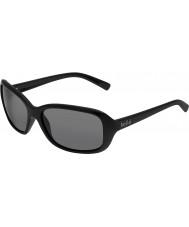 Bolle Molly glänsande svart tns solglasögon