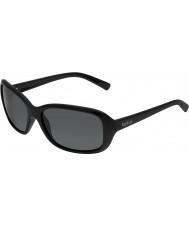 Bolle Molly glänsande svart polarise tns solglasögon