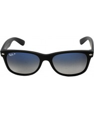 RayBan RB2132 55 nya wayfarer matt svart 601s78 polariserade solglasögon