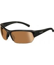 Bolle Ransom glänsande svart modulator v3 golf solglasögon