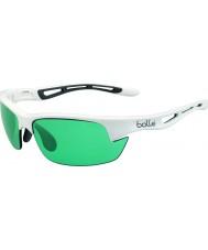 Bolle Bolt s glänsande vit competivision pistol tennis solglasögon