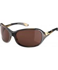 Bolle Grace glänsande sköldpaddsskal polariserad a-14 solglasögon
