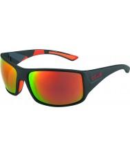Bolle Tigerorm matt svart camo polariserad tns brand solglasögon