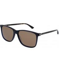 Gucci Mens gg0017s 005 solglasögon