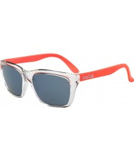Bolle 527 retro samling skina crystal apelsin gb-10 solglasögon