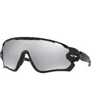 Oakley Oo9290-19 jawbreaker polerad svart - krom iridium ventilerade solglasögon