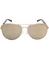 Michael Kors Mk1003 58 fiji steg guld 1003r5 solglasögon
