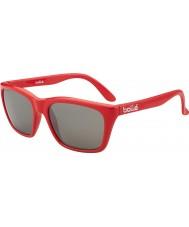 Bolle 527 retro samling glänsande röda camo tns gun solglasögon