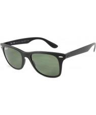 RayBan Rb4195 52 wayfarer liteforce matt svart 601s9a polariserade solglasögon
