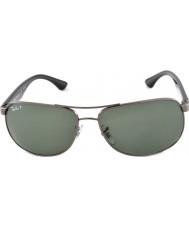 RayBan Rb3502 61 highstreet gunmetal 004-58 polariserade solglasögon