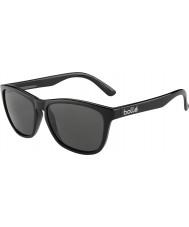 Bolle 437 retro samling glänsande svart polarise tns solglasögon