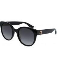 Gucci Damer gg0035s 001 solglasögon