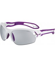 Cebe Cbspring5 s-pring vita solglasögon