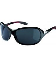 Bolle Nåd glänsande svart korall polarise tns solglasögon