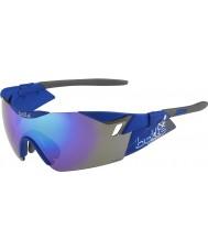 Bolle 6th Sense s matt marinblå violetta solglasögon