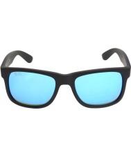 RayBan Rb4165 justin svart - blå spegel