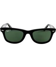 RayBan Rb2140 original wayfarer svart - grön polariserad