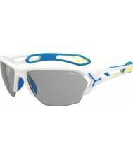 Cebe Cbstl8 s-track l vita solglasögon