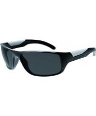 Bolle Vibe blanka svarta polarise tns solglasögon