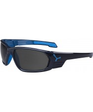 Cebe S-cape stora antracit blå polariserade solglasögon