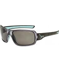 Cebe Changpa borstad grå polariserade solglasögon