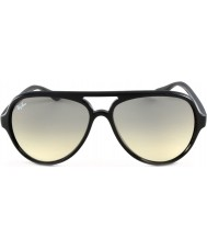 RayBan Rb4125 59 katter 5000 svarta 601-32 solglasögon