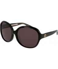 Gucci Damer gg0080sk 001 solglasögon
