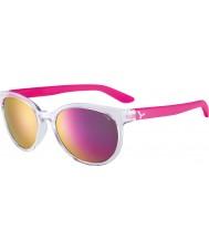 Cebe Cbsunri1 soluppgång genomskinliga rosa solglasögon