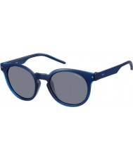 Polaroid Mens pld2036-s m3q c3 blå polariserade solglasögon