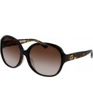 Gucci Damer gg0080sk 003 solglasögon