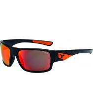 Cebe Whisper matt svart apelsin solglasögon