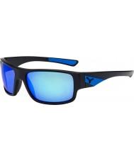 Cebe Whisper mattsvart blå solglasögon