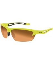 Bolle Bult neon gul modulator bärnsten solglasögon