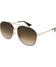Gucci Mens gg0227s 003 62 solglasögon
