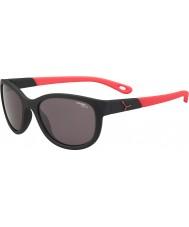 Cebe Katniss (okänd 7-10) matt svart rosa 1500 grå blått ljus solglasögon