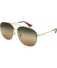 Gucci Mens gg0227s 004 62 solglasögon