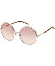 Marc Jacobs Damer marc 11-s TXA 05 guld bruna solglasögon