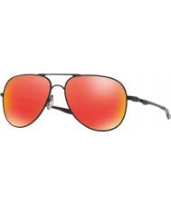 Oakley Oo4119-04 elmont m och l satin svart - rubin iridium solglasögon
