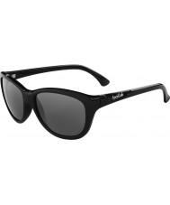 Bolle Greta glänsande svart polarise tns solglasögon