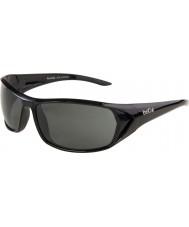 Bolle Blacktail blanka svarta polarise tns solglasögon