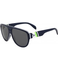 Cebe Miami mörk blå grön 1500 grå flash spegel solglasögon