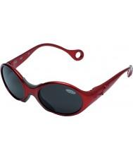 Cebe 1973 (ålder 1-3) glänsande rubidium röd 2000 grå solglasögon