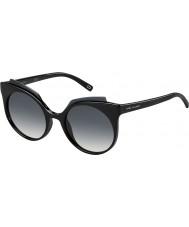 Marc Jacobs Damer marc 105-s D28 9o blanka svarta solglasögon