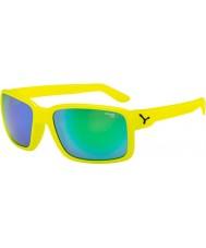 Cebe Dude neongul gröna solglasögon