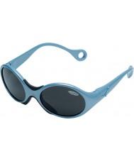 Cebe 1973 (okänd 1-3) glänsande metall ljusblå 2000 grå solglasögon